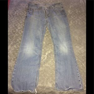 American Eagle Low Rise Bootcut Jeans 32x30
